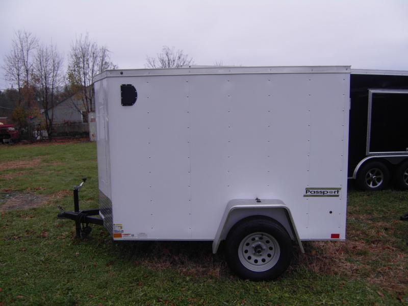 2019 Haulmark PPT5X8DS2 Enclosed Cargo Trailer Ramp Door