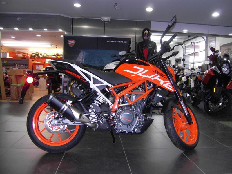 2018 KTM 390 Duke