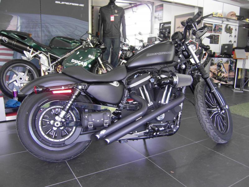 2011 Harley Davidson Sportster 883 Iron