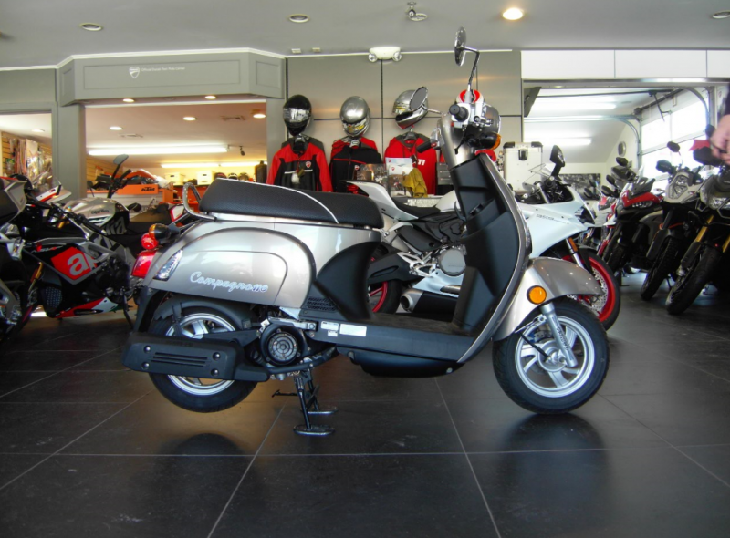 2013 Kymco Compagno 110i Scooter