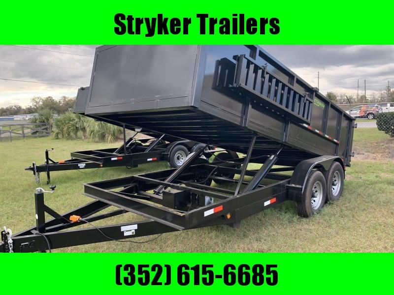 7X16 14K Dump Trailer 3' Sides in Ashburn, VA