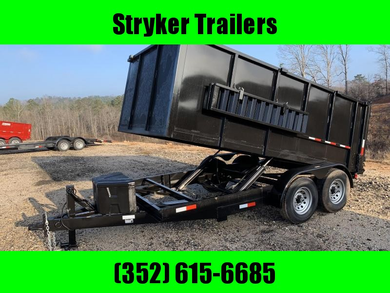 7x14x4 14K Dump Trailer 4' Sides Poly Box in Ashburn, VA