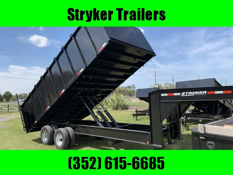 2019 Stryker Trailers 8x20x4 Gooseneck Dump Trailer