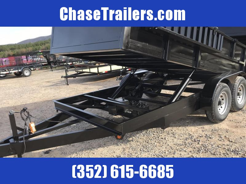 7X14 14K Dump Trailer 2' side walls