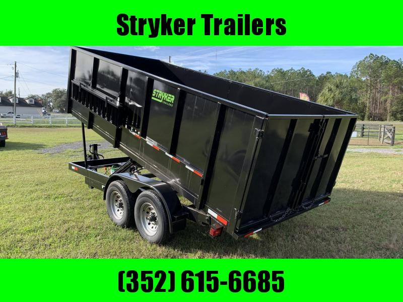 7X16 14K Dump Trailer 4' Sides in Ashburn, VA