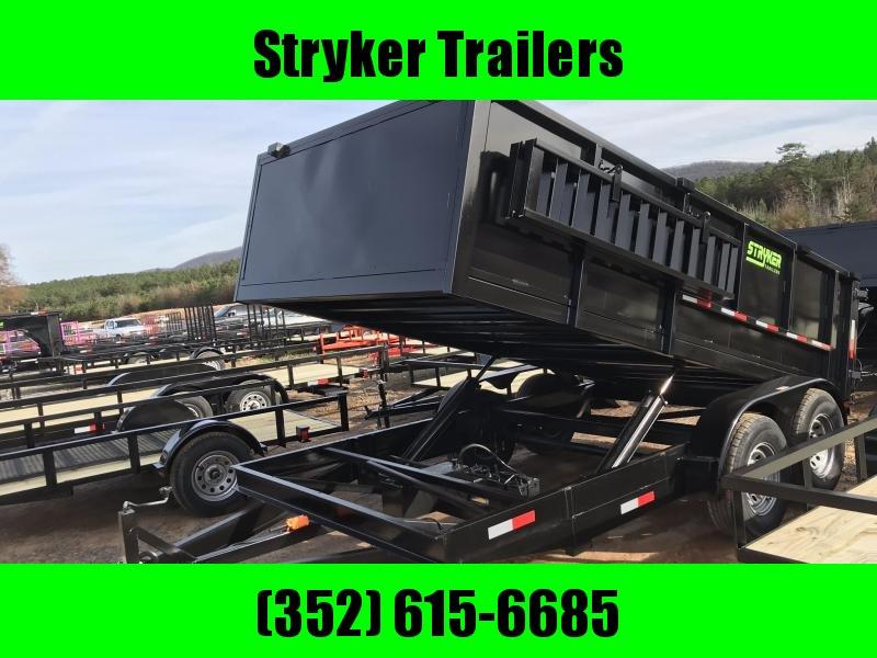 7X14 14K Dump Trailer 3' Walls in Ashburn, VA