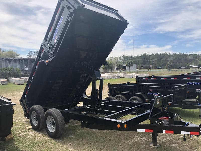"""2018 Load Trail 7x14 Dump Trailer 14K w/ 50"""" Side Door"""