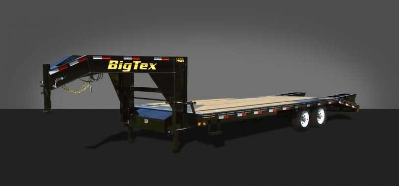 2019 Big Tex 14GN-25 Flatbed Trailer