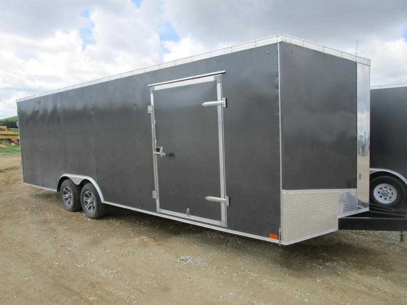 2017 Discovery Trailers 724 Enclosed Cargo Trailer
