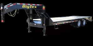 2019 Big Tex 22GN-25 Flatbed Trailer