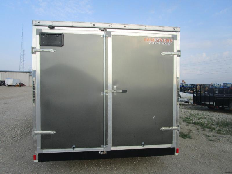 2017 Discovery Trailers 718 Enclosed Cargo Trailer