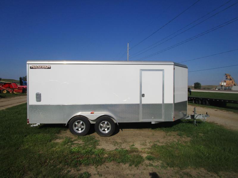 2016 Aluma AE716TAM Enclosed Cargo Trailer