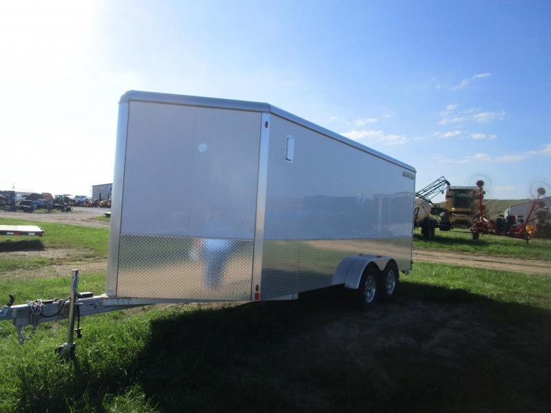 2016 Aluma AE716TAM Enclosed Cargo Trailer
