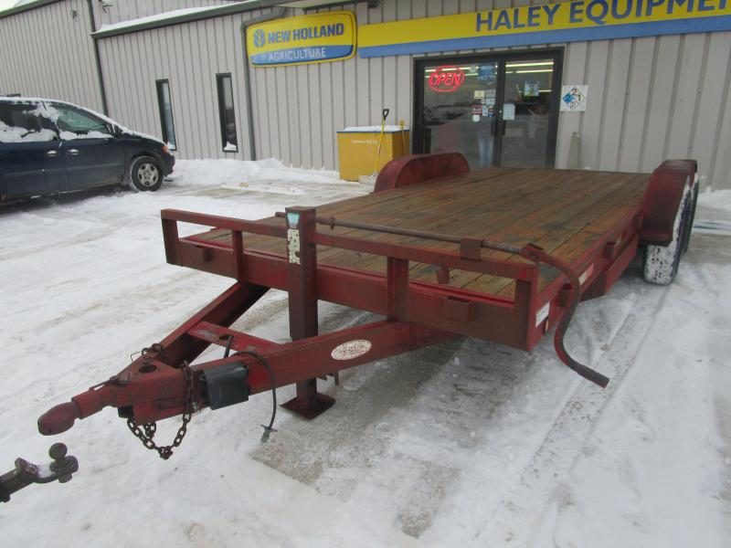 Flatbed Trailers | Haley Trailers | PJ Flatbed, Dump and Utility ...