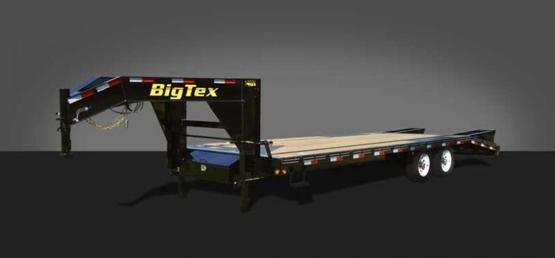 2019 Big Tex Trailers 14GN-25 Flatbed Trailer
