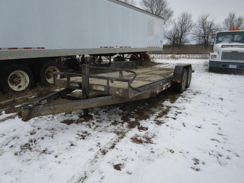 2014 PJ 20 Tilt Equipment Trailer