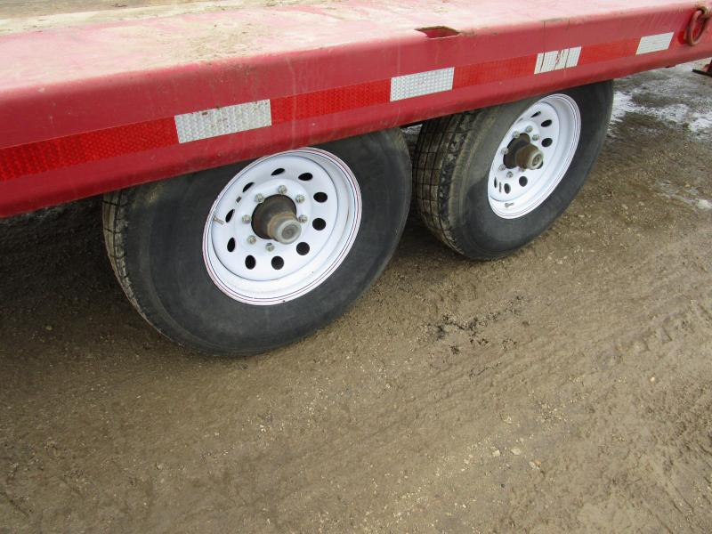 1974 Ditchwitch 21' Flatbed Trailer