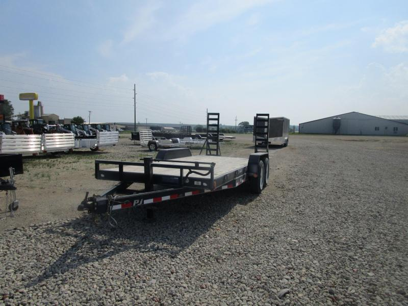 2011 PJ 18x6 Equipment Trailer
