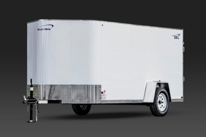 2019 Sharp 6x12 Enclosed Cargo Trailer