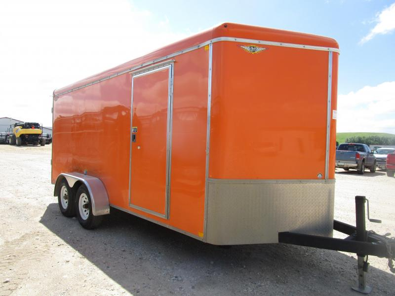2015 H and H Trailer 7x16 Enclosed Cargo Trailer