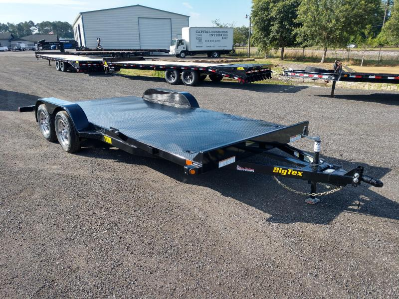 70DM-18BK BIG TEX 18' STEEL DECK CAR HAULER in Ashburn, VA