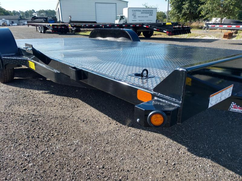 70DM-18BK BIG TEX 18' STEEL DECK CAR HAULER | Texas Trailers