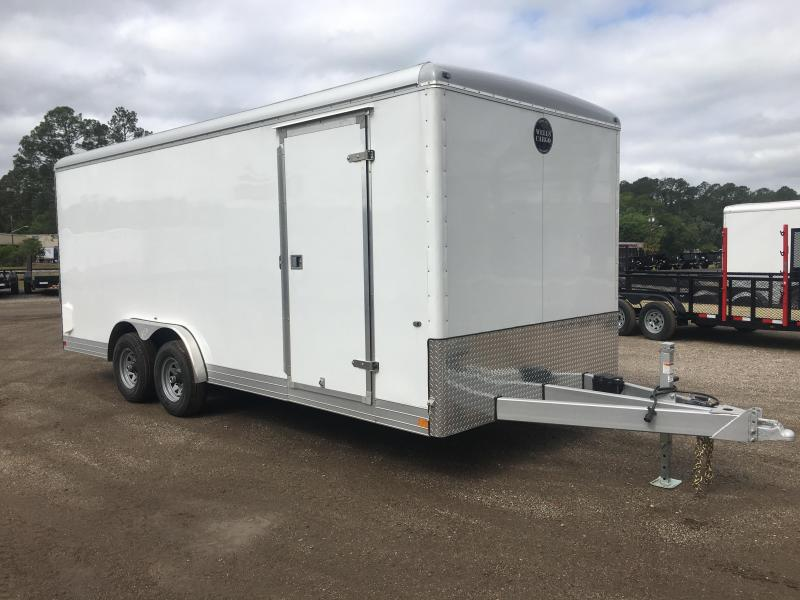 EW2024 WELLS CARGO 8X20 EXPRESS WAGON ENCLOSED CARGO TRAILER W/ CUSTOM OPTIONS in Ashburn, VA