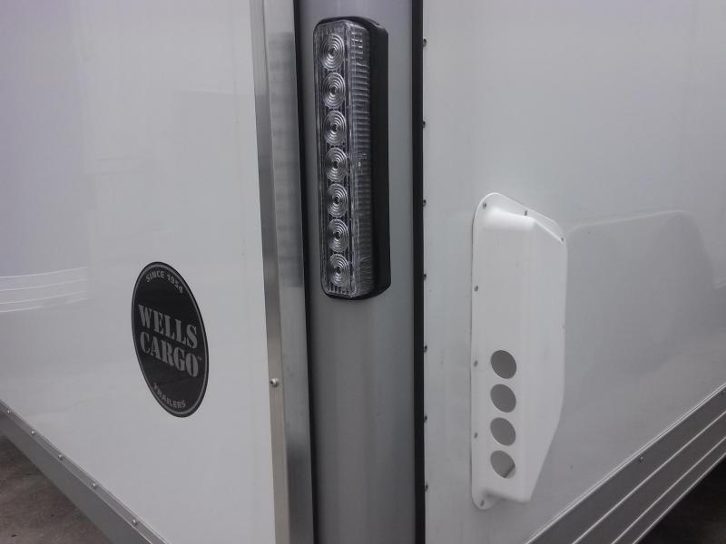 EW2024 WELLS CARGO 8X20 EXPRESS WAGON ENCLOSED CARGO TRAILER W/ CUSTOM OPTIONS