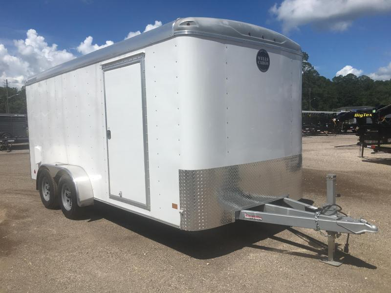 RF7X162 WELLS CARGO 7X16 ROAD FORCE ENCLOSED CARGO TRAILER in Ashburn, VA