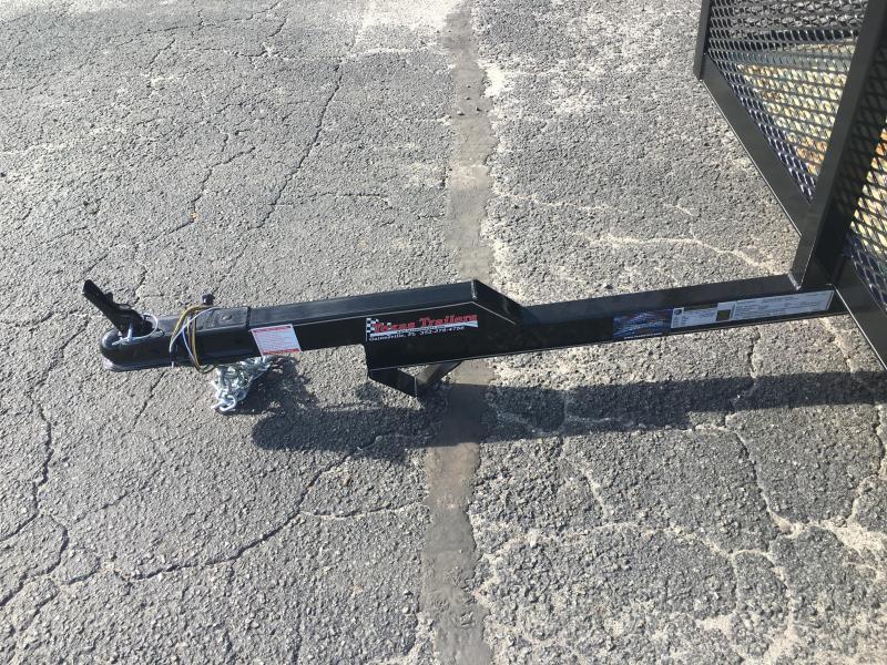 LM51020 TEXAS TRAILERS 5X10 LAWN MAINTENANCE TRAILER