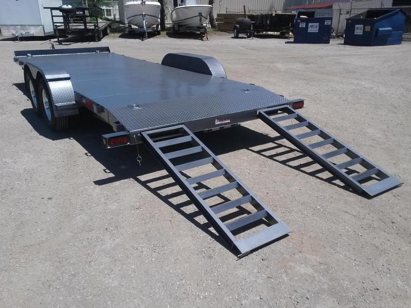 CH2010 TEXAS TRAILERS 20' CAR HAULER W/ CUSTOM OPTIONS