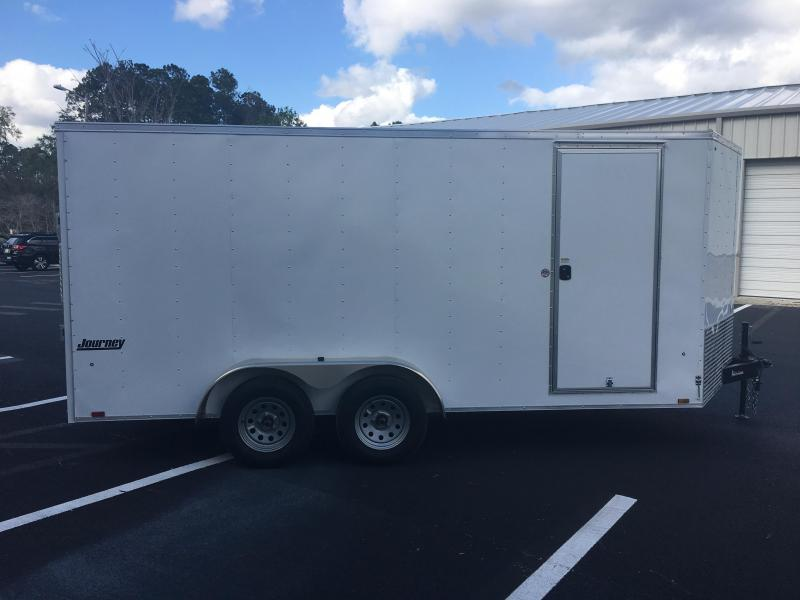 JV7X16TE2 PACE AMERICAN 7 X 16 ENCLOSED CARGO TRAILER