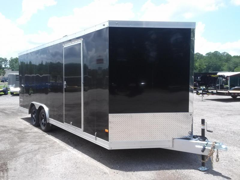 WAUV85X2022 WELLS CARGO 8.5X20 SILVER SPORT ALUMINUM ENCLOSED CAR HAULER in Ashburn, VA