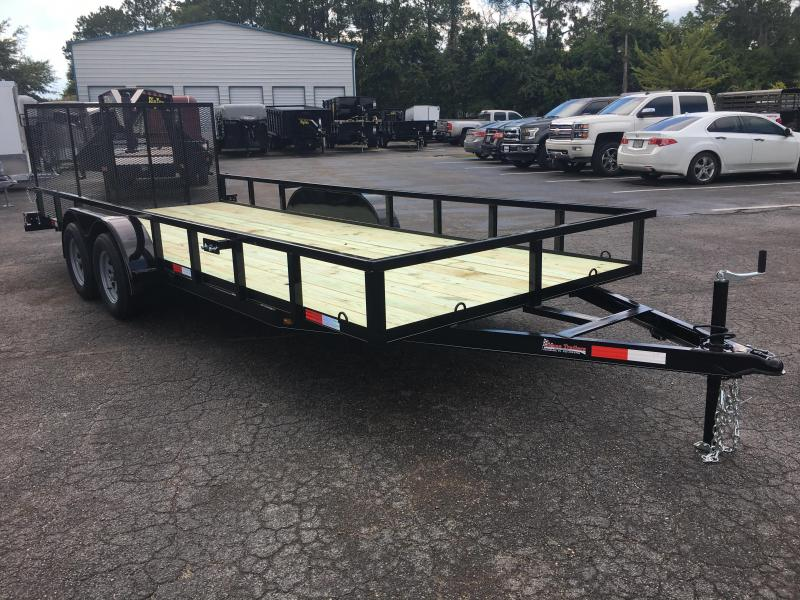 "UT61870 TEXAS TRAILERS 6'10""X18' UTILITY TRAILER  in Ashburn, VA"
