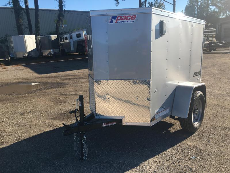 JV4X6SI2 PACE AMERICAN 4 X 6 ENCLOSED CARGO TRAILER