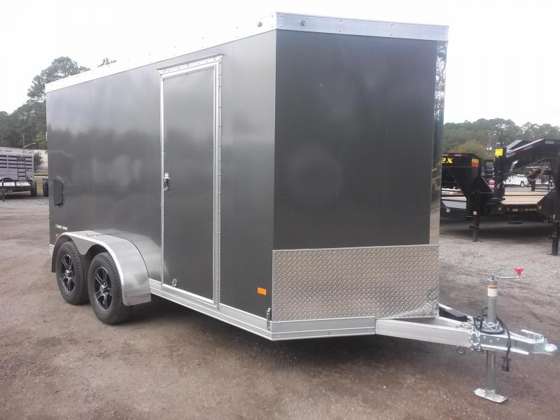 WAUV7X1422 WELLS CARGO 7X14 SILVER SPORT ALUMINUM ENCLOSED CARGO TRAILER W/ CUSTOM OPTIONS in Ashburn, VA