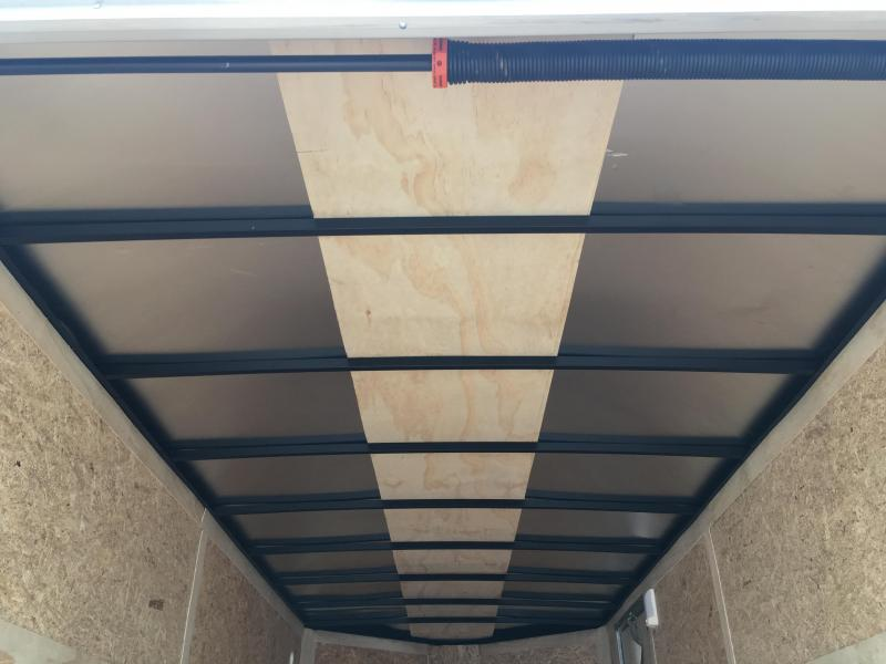JV7X16TE3 PACE AMERICAN 7 X 16 ENCLOSED CARGO TRAILER W/ 5200# AXLES