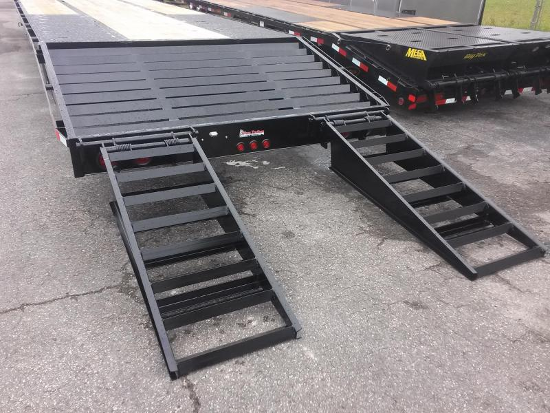 FB4020G TEXAS TRAILERS 40' GOOSENECK DECK OVER FLATBED