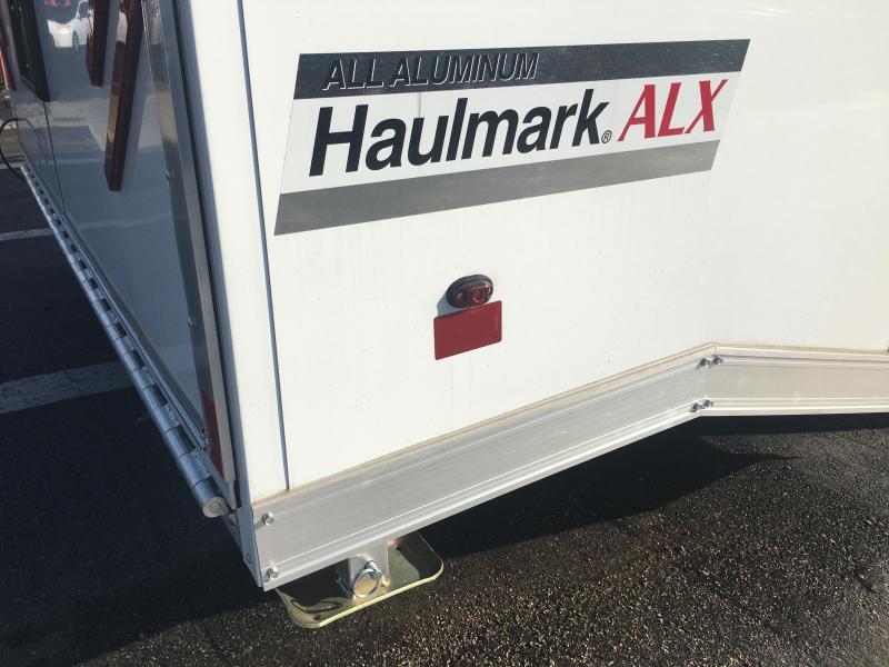 HAR85X24WT3 8.5'X24'  ALUMINUM RACE ENCLOSED TRAILER