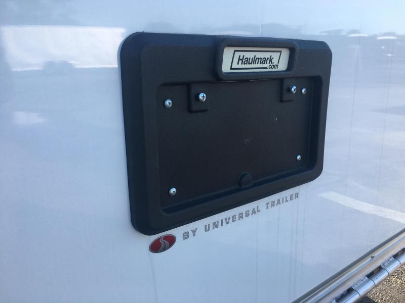 HAR85X24WT3 HAULMARK 8.5' X 24' ALUMINUM RACE ENCLOSED TRAILER