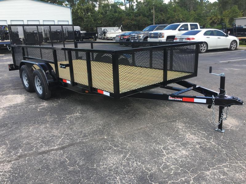 "LM61470 TEXAS TRAILERS 6'10""X14' LAWN MAINTENANCE TRAILER  in Ashburn, VA"