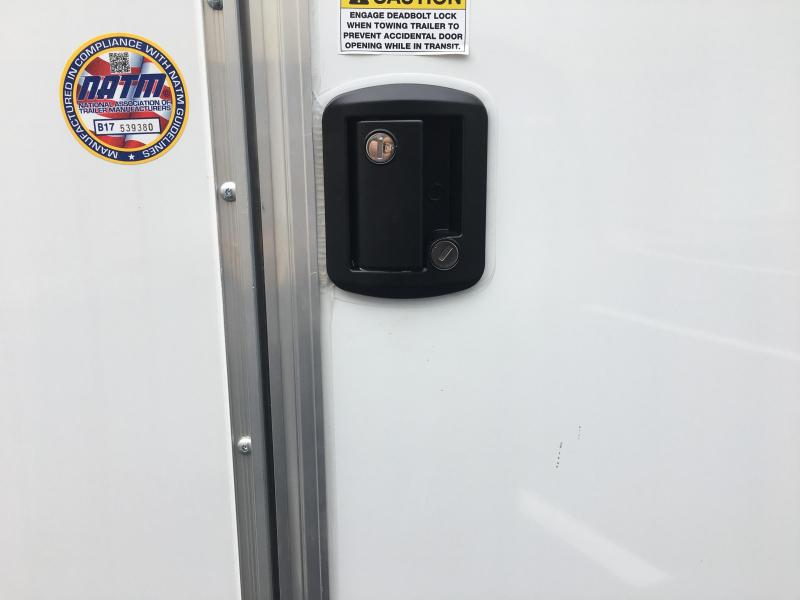 JV85X20TE2 PACE AMERICAN 8.5'X20' ENCLOSED AUTO HAULER