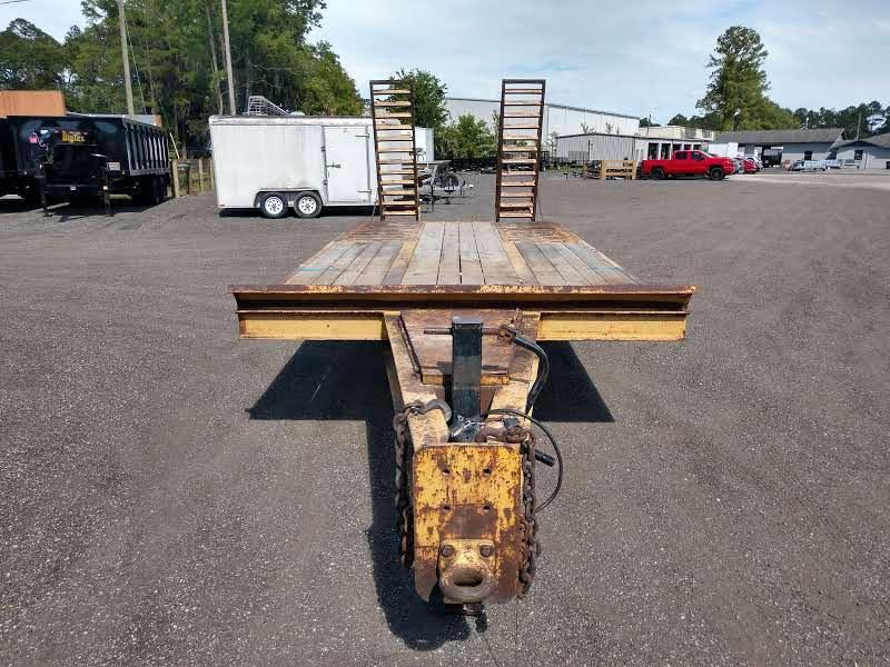 1996 CROSLEY 16' FLATBED TRAILER W/ 4' DOVETAIL