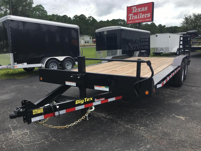 14DF-22BK BIG TEX 22' DRIVE OVER FENDERS EQUIPMENT TRAILER in FL