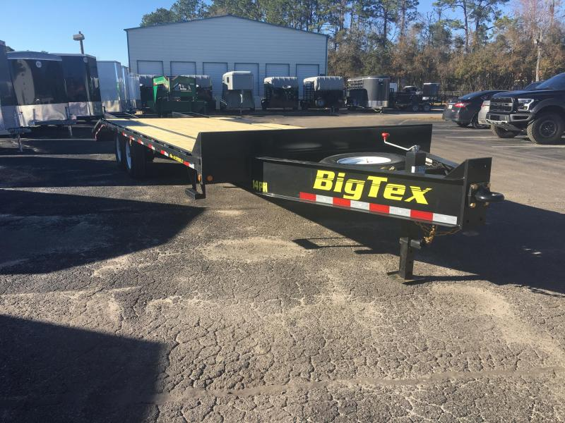 14PH-20BK+5 BIG TEX 25' FLATBED TRAILER in FL