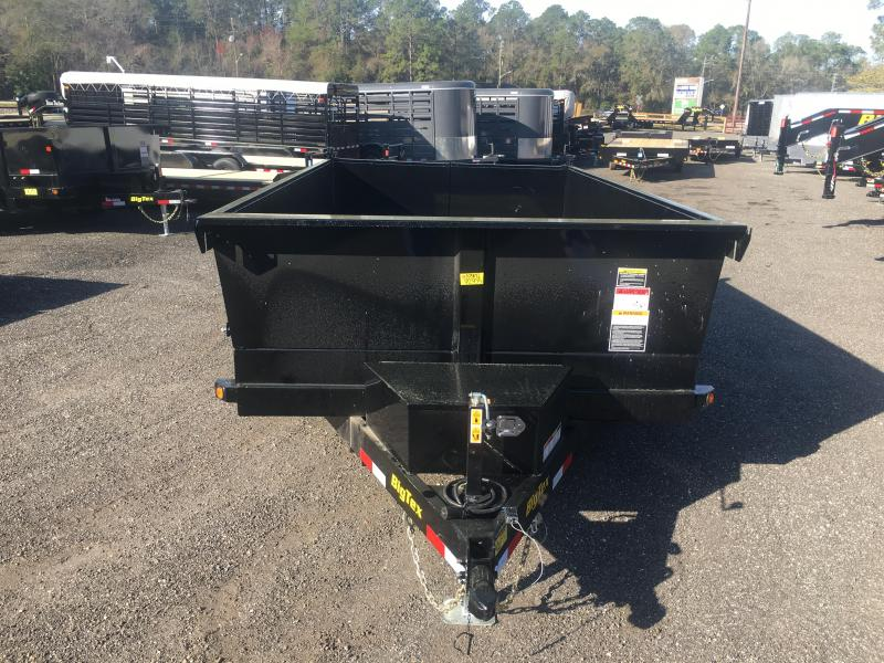 BIG TEX 12' DUMP TRAILER W/ TWISTED FRAME
