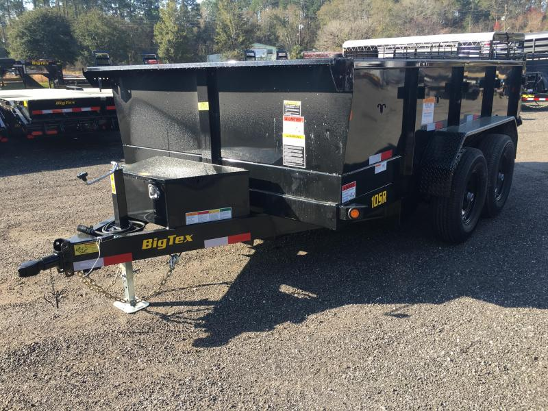 BIG TEX 12' DUMP TRAILER W/ OFFSET DUMP BOX