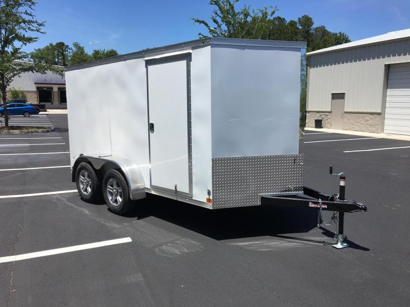HMVG712T HAULMARK 7X12 ENCLOSED CARGO TRAILER