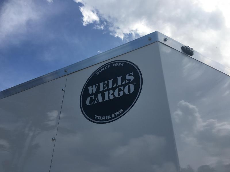 WCVG612S WELLS CARGO 6X12 V-100 SERIES ENCLOSED CARGO TRAILER