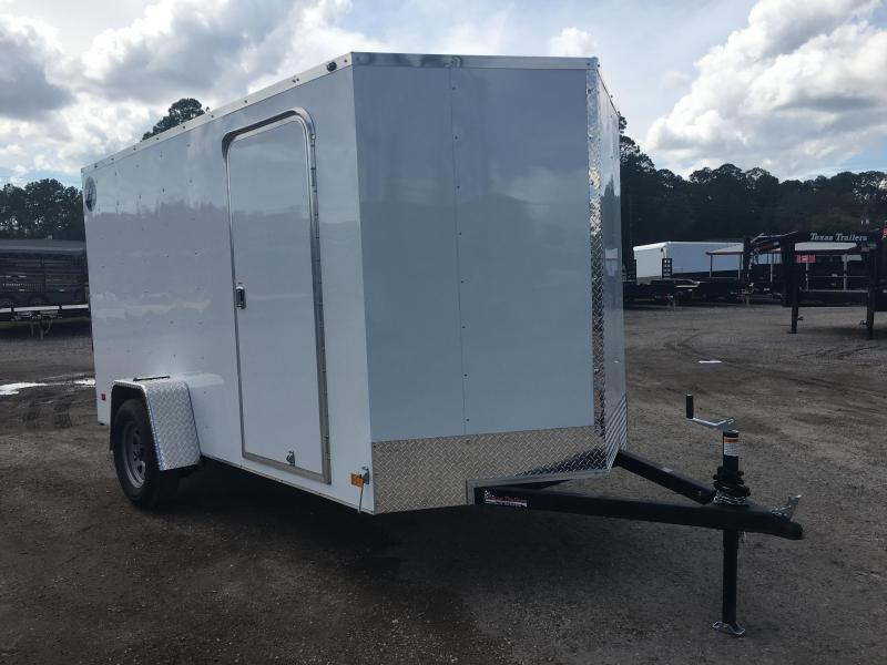 WCVG612S WELLS CARGO 6X12 V-100 SERIES ENCLOSED CARGO TRAILER